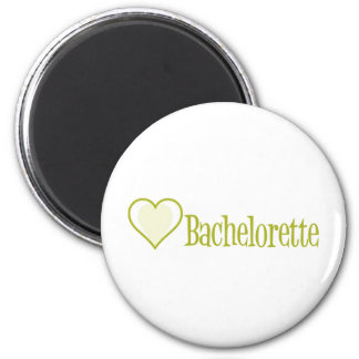 SingleHeart-Bachelorette-Ylw Imán Para Frigorífico