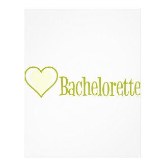 SingleHeart-Bachelorette-Ylw Letterhead