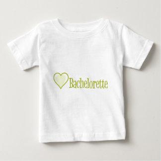 SingleHeart-Bachelorette-Ylw Playera De Bebé