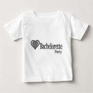 SingleHeart-BacheloretteParty-Blk Baby T-Shirt