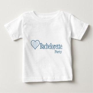 SingleHeart-BacheloretteParty-Blue Baby T-Shirt