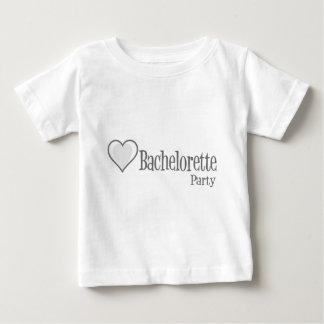 SingleHeart-BacheloretteParty-Grey Baby T-Shirt