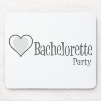 SingleHeart-BacheloretteParty-Grey Mouse Pad