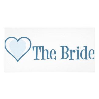 SingleHeart-Bride-Blue Card