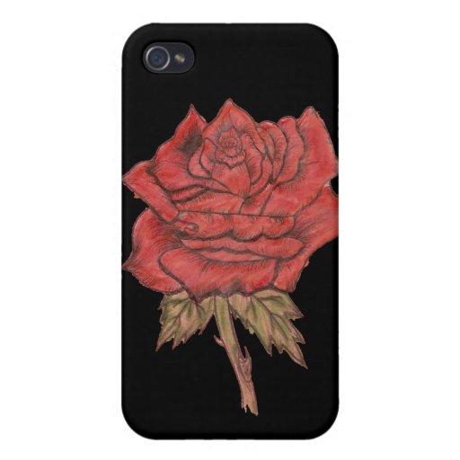 singlerose iPhone 4/4S cover