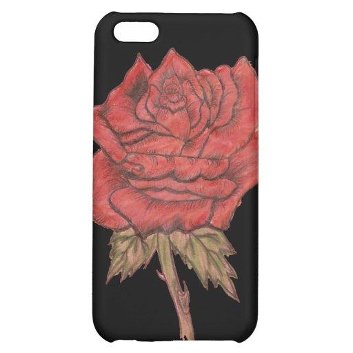 singlerose iPhone 5C cover