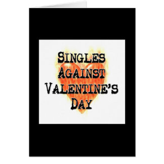 Singles Against Valentine's Day Cards