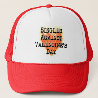 Singles Against Valentine's Day Hat
