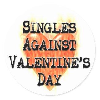 Singles Against Valentine's Day Stickers sticker