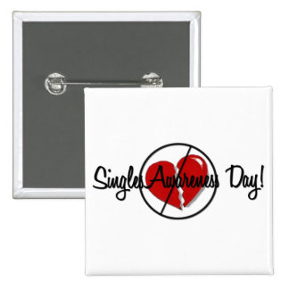 Singles Awareness Day Buttons