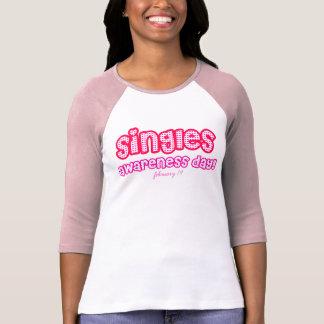 singles awareness day! valentines shirt