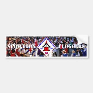 Singleton Cloggers 60th Bumper Sticker