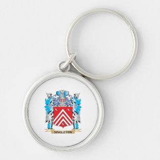 Singleton Coat of Arms - Family Crest Keychain