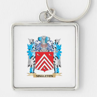 Singleton Coat of Arms - Family Crest Keychains