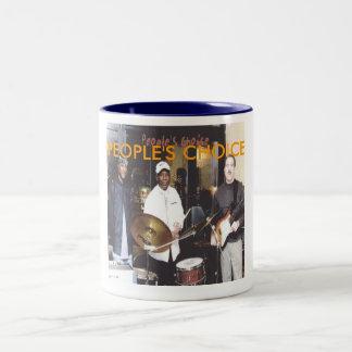 singleton de ben y la foto bien escogida de la taza de café de dos colores