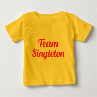 Singleton del equipo playera