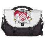 Singleton Family Crest Bag For Laptop