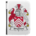 Singleton Family Crest Kindle Keyboard Covers