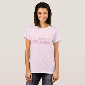 Singleton | My Greatest Blessing Calls Me Grandma T-Shirt