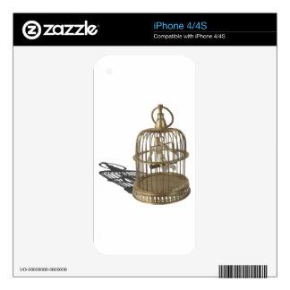 SingLikeCanary080214 copy iPhone 4 Skins