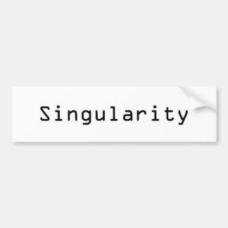 Singularidad Pegatina Para Auto