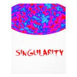 singularidad con universo de la microonda membretes personalizados