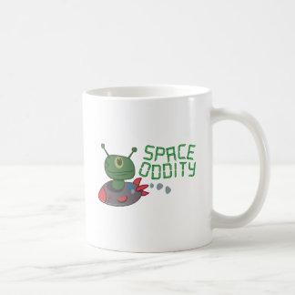 Singularidad del espacio tazas