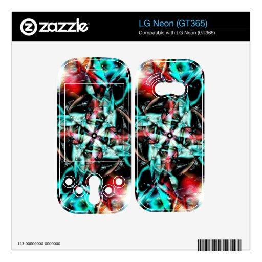 Singularidad Skins Para LG Neon