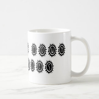Singularidades 4,9 de la ciudad del foso tazas de café