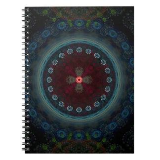 Singularity fractal notebook