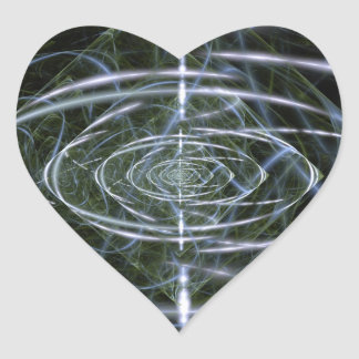 Singularity Heart Sticker