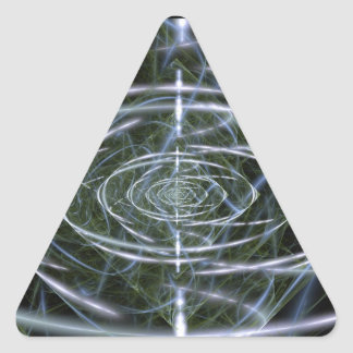 Singularity Triangle Sticker