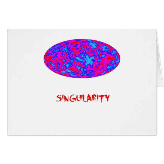 singularity with microwave universe card