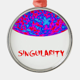 singularity with microwave universe christmas ornaments
