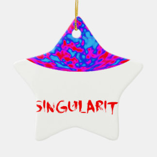 singularity with microwave universe christmas tree ornament