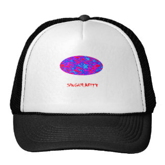singularity with microwave universe trucker hat