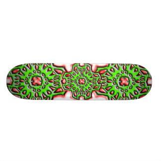 Sinical Flower Skateboard