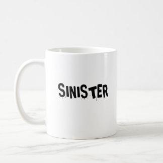 SINIESTRO TAZA DE CAFÉ