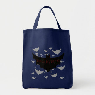 Sinister Bat Hoard Halloween Trick or Treat Bag