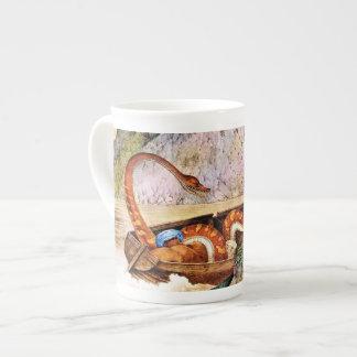 Sinister Boa Constrictor Art (Aloys Zotl) Tea Cup