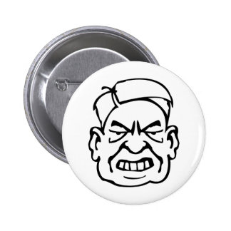 Sinister Pinback Button