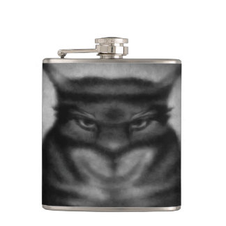 Sinister Cat Flask
