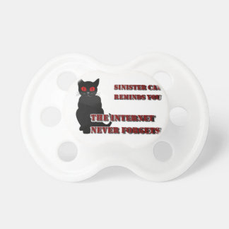 Sinister Cat Pacifier