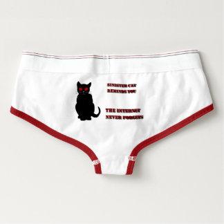 Sinister Cat Undercover Briefs