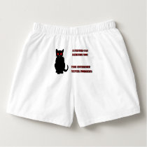 Sinister Cat Undercover for Men Boxers
