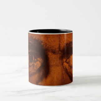 Sinister Eyes Two-Tone Coffee Mug