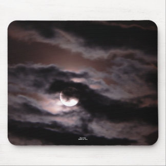 """""""Sinister Moon"""" Mouse Pad"""