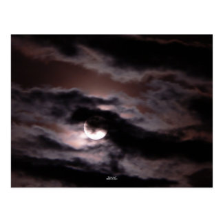 """Sinister Moon"" Postcard"