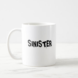 SINISTER CLASSIC WHITE COFFEE MUG