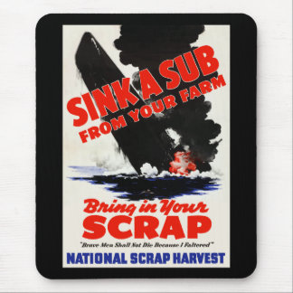 Sink A Sub From Your Farm Mouse Pad